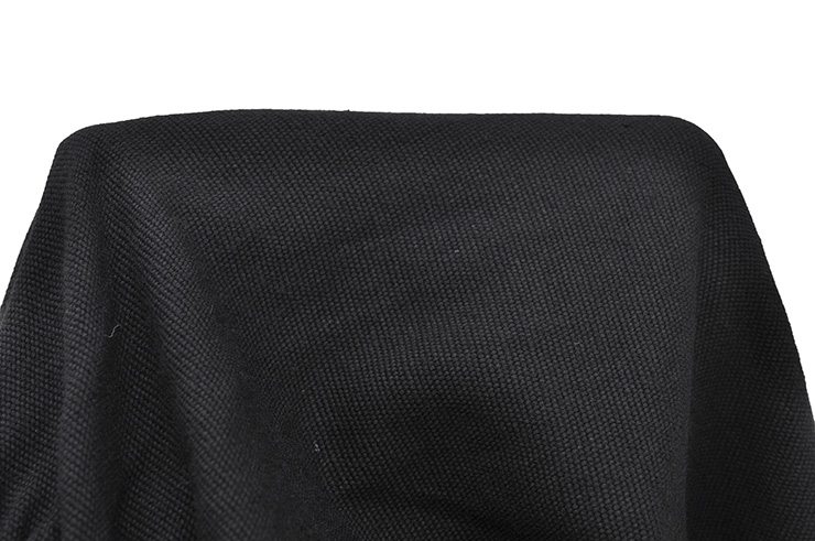 Pantalon Wushu & Taiji, Coton épais, Noir