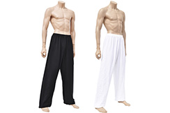 Wushu & Taiji Pants, Spandex + Cotton