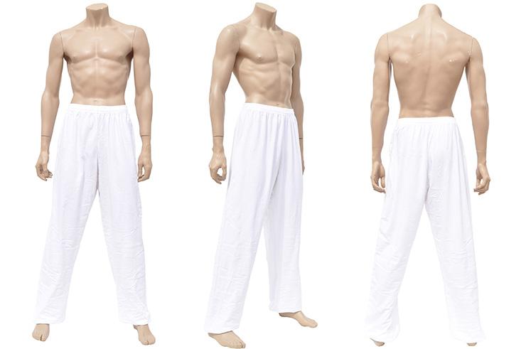 Pantalón de Wushu y Taiji, Cotton + Spandex