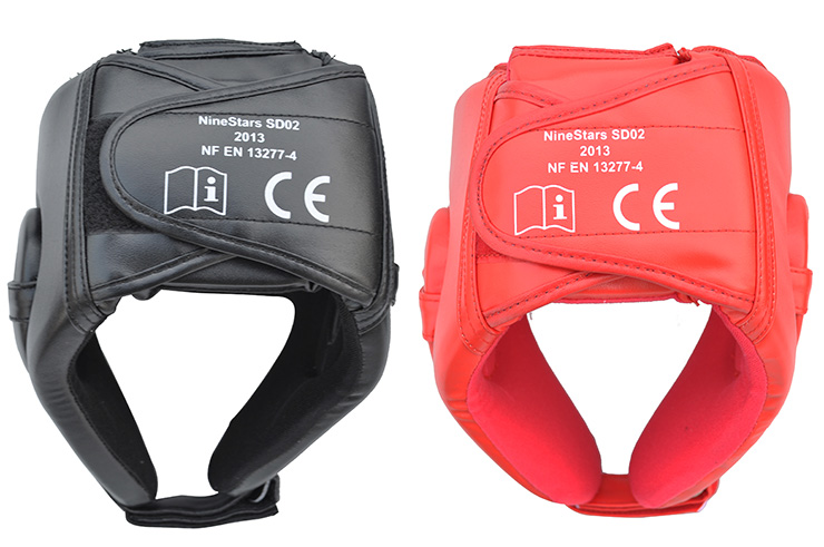 Casco de Sanda Boxeo Chino, Nine Stars SD02