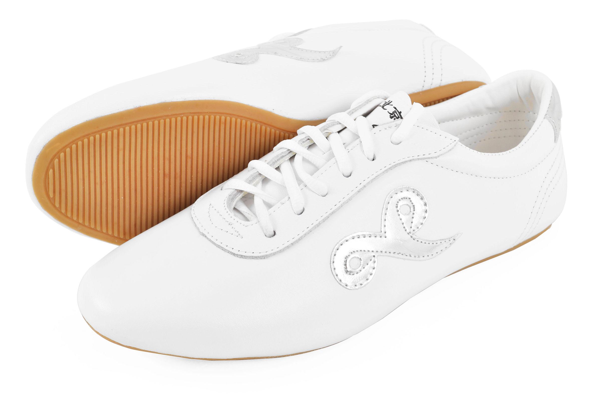Zapatos de Wushu 'Shen Long', Blancos - 40