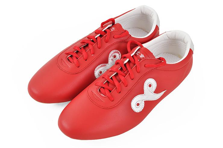 Chaussures Wushu «Qiankun», Rouge