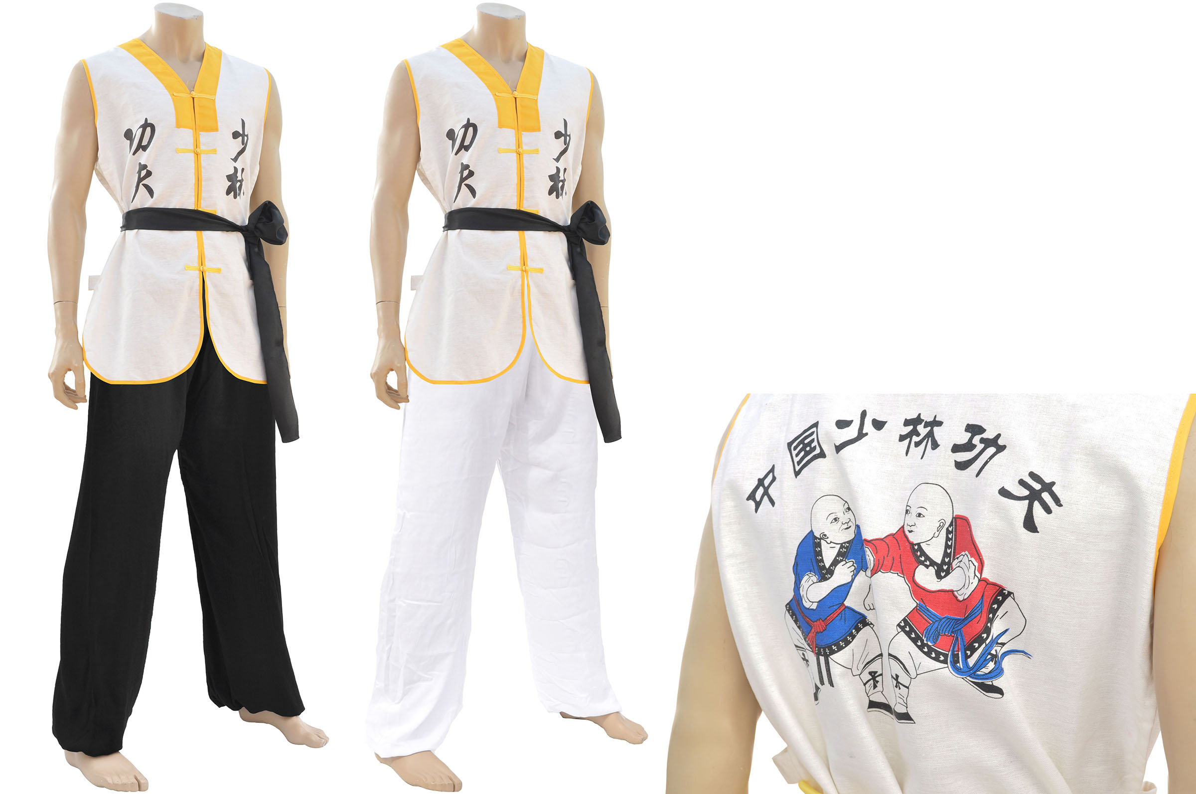 Luo Han Monk Uniform Dragonsports