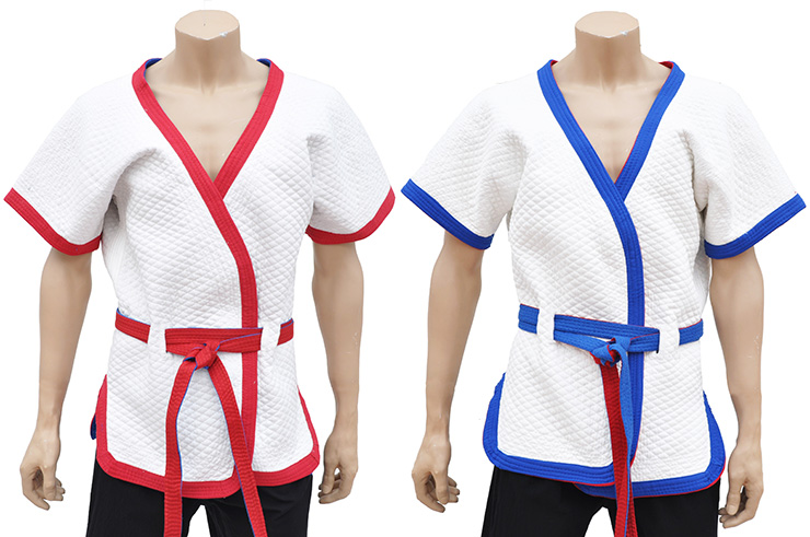 Chinese Wrestling Vest 2 (Shuai Jiao), 100% Cotton