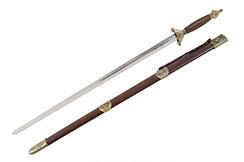 «Xiang» Tai Ji, Tai Chi Straightsword, Diamond Cross Section - Semi Flexible