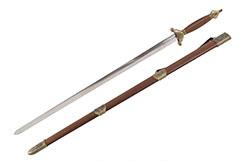 «Xiang» Tai Ji, Tai Chi Straightsword - Semi Flexible