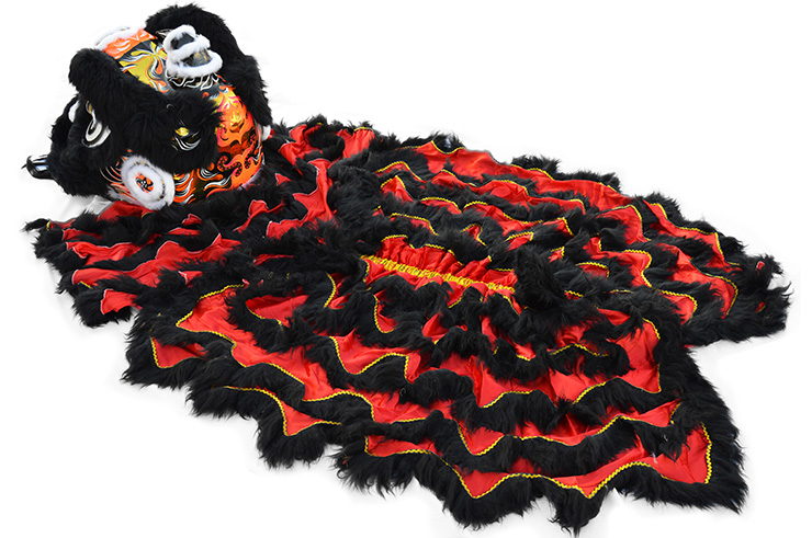 Costume Danse du Lion du Sud «Wan Ye» (Haut de Gamme)