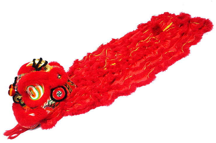 Costume Danse du Lion du Sud «Chunjie» (Haut de Gamme)
