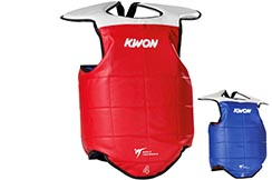 Reversible Taekwondo Chest Protection WTF, Kwon