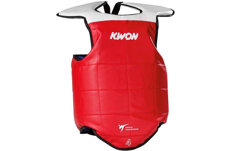 Plastron Révérsible Taekwondo WTF, Kwon