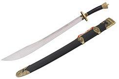 Traditional Jiangshi Broadsword, Wushu & Taiji - Semi Flexible