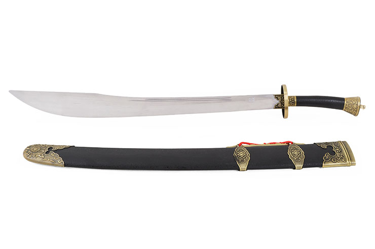 Traditional Jiangshi Broadsword, Wushu & Taiji - Semi Flexible