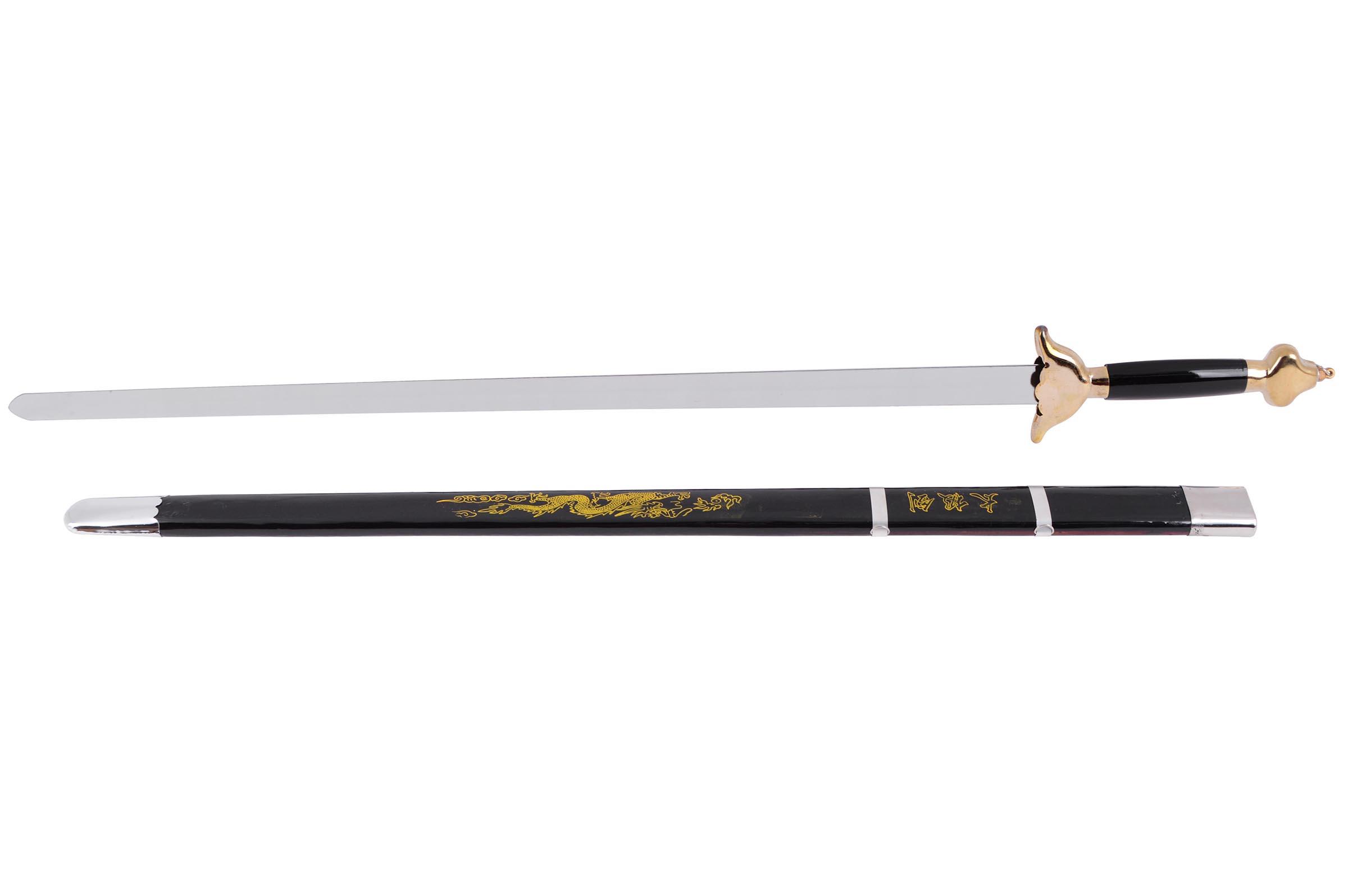 Épée Avec Fourreau, Noir/Doré