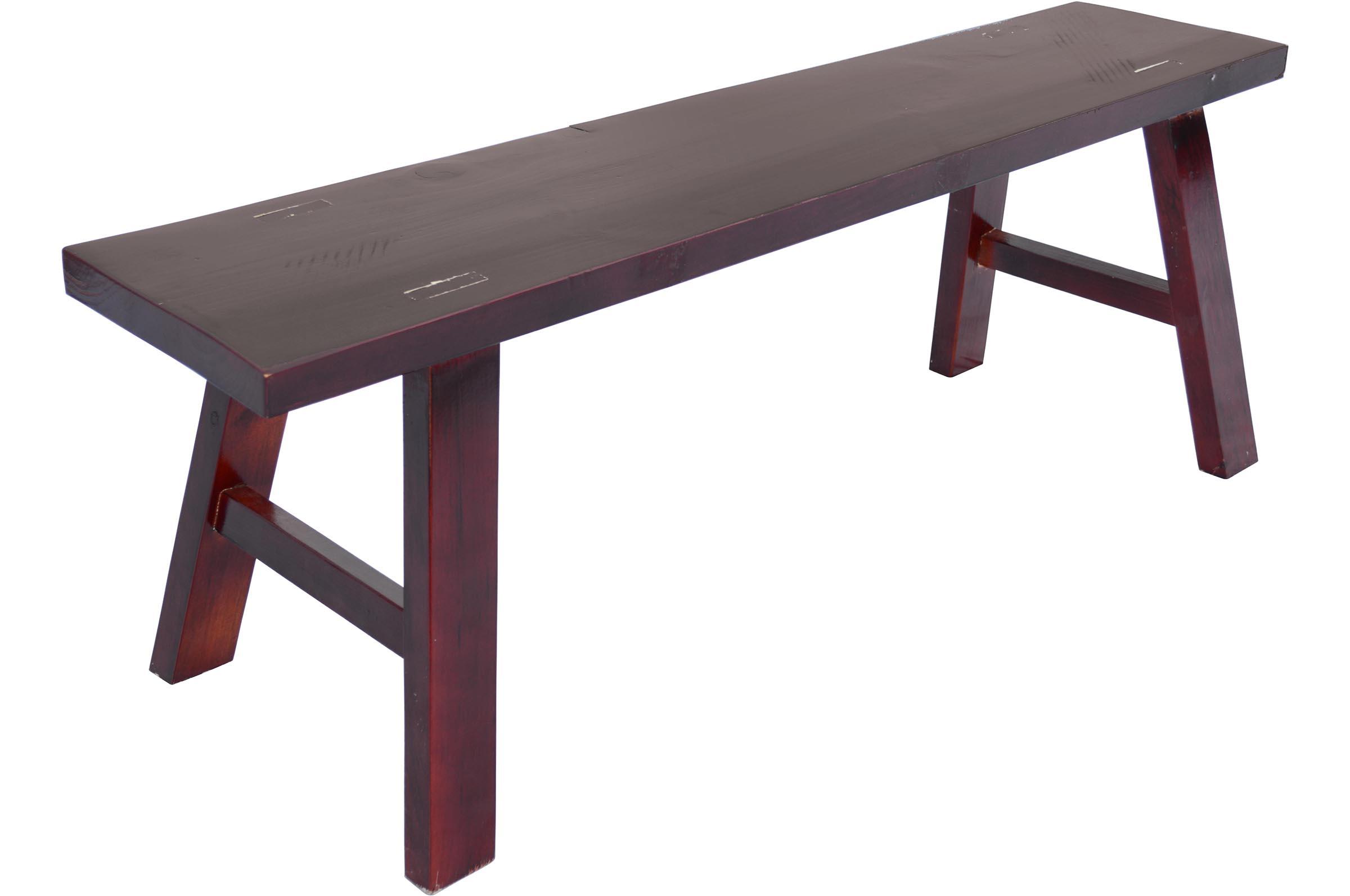 wooden kung fu bench. Black Bedroom Furniture Sets. Home Design Ideas