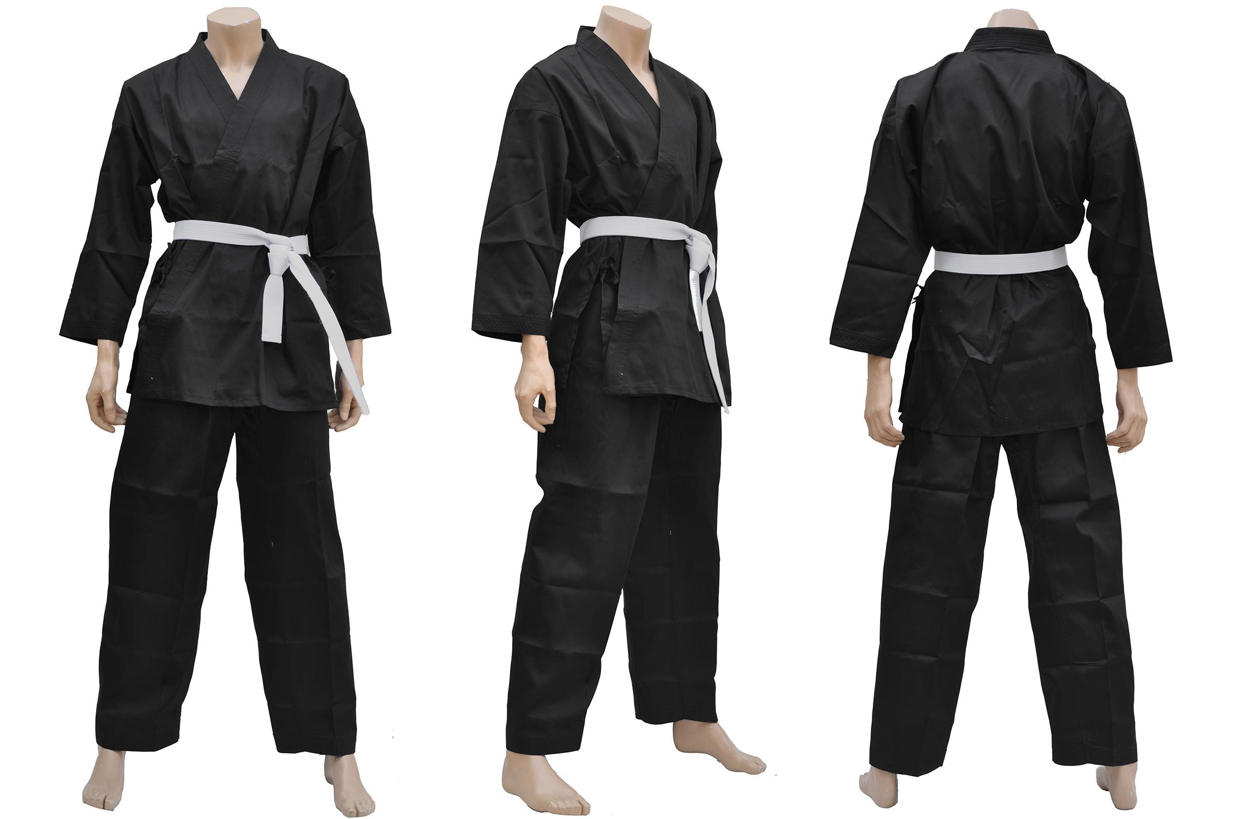 [Déstock] Kimono Karaté, Noir - DragonSports.eu