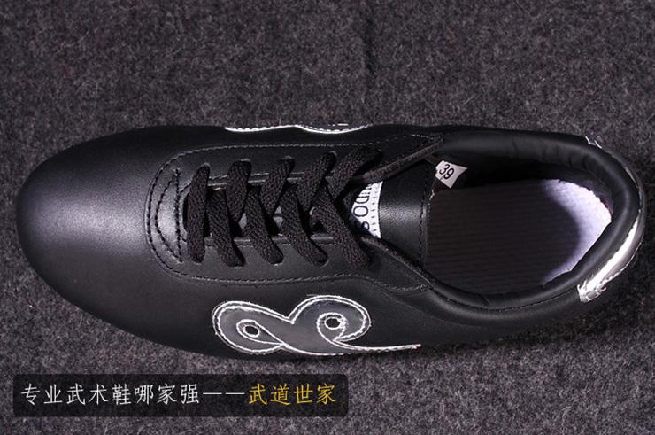 Chaussures Wushu «Budosaga», Noires