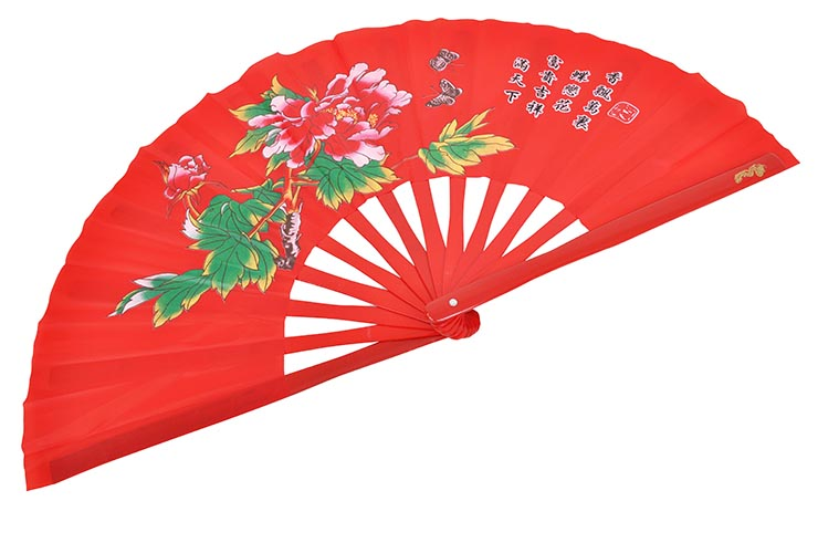 Tai Chi Fan (Tai Ji Shan) Peony