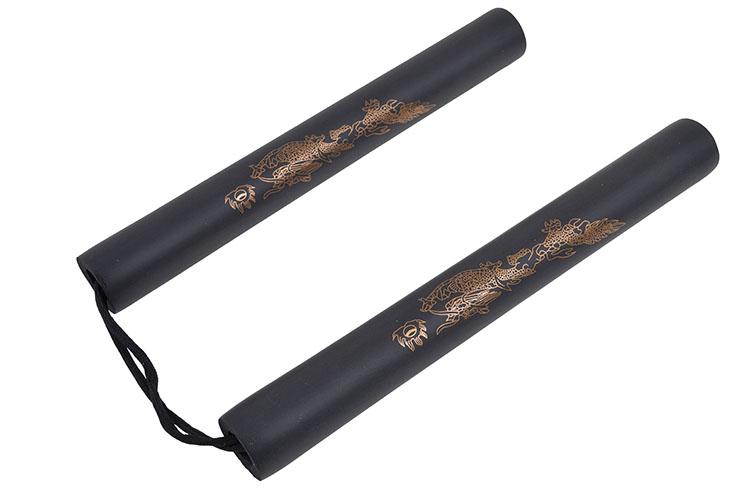 Nunchaku, Dragón Tamaño Pequeño - Espuma y Cuerda