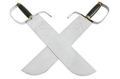 Cuchillos Yong Chun Quan (Hu Die Dao) 3