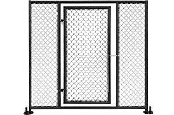 Panel de jaula MMA, con puerta - NineStars