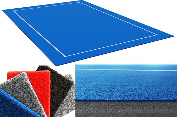 Tapis de Wushu Moderne - Tatami déroulable, revêtement tapis