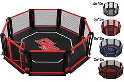 Cage MMA - au sol, NineStars
