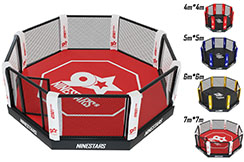 Cage MMA - sur plateforme, NineStars