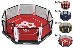 Cage MMA - Sur plateforme