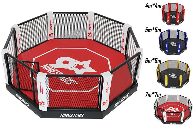 MMA Cage - On platform