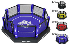 MMA Cage, On platform with sidewalk - High Range