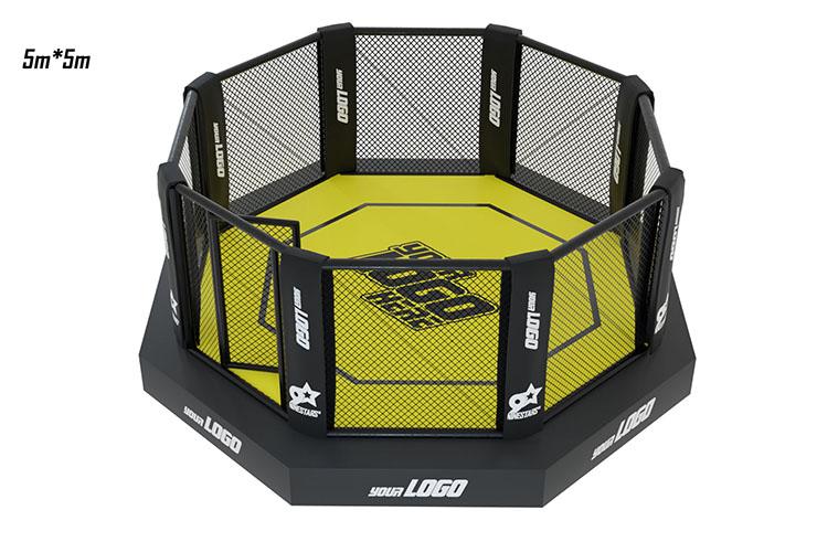 MMA Cage, On platform with sidewalk - High Range