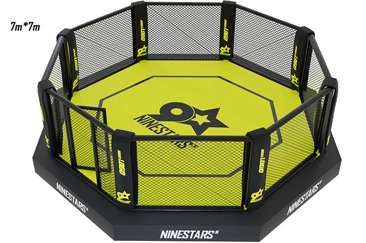 MMA Cage - On platform with sidewalk