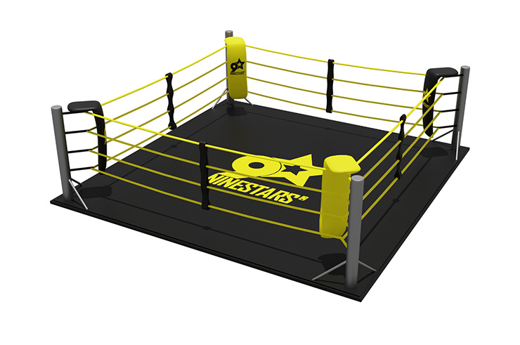 Boxing ring - On floor