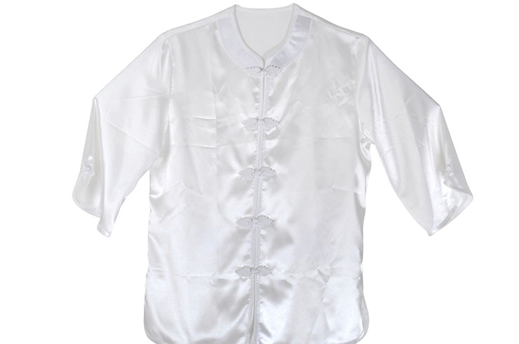 [Déstock] Traje Taiji Imitación Seda, hoja de arce 150/160cm