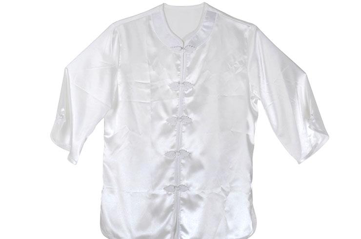 Taiji uniform, imitation silk, mapple leaves 150/160cm