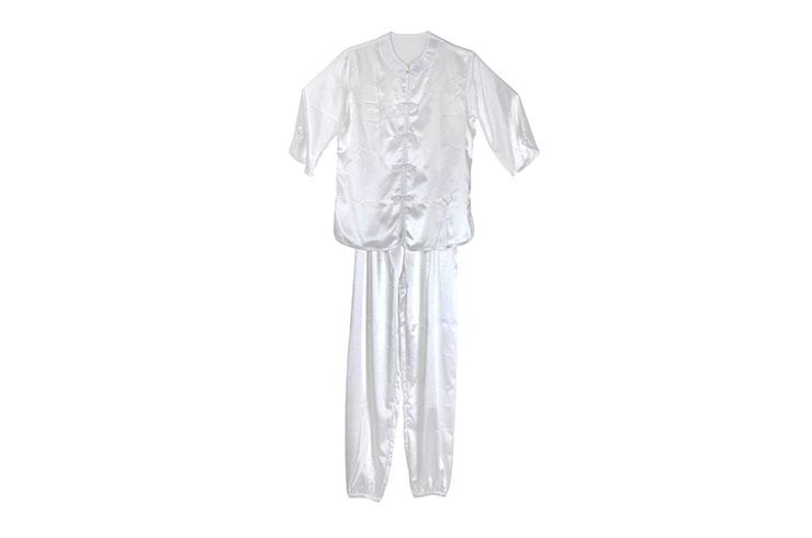 [Déstock] Tenue Taiji imitation soie, feuille d'érable - 150/160cm