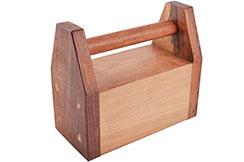 Kettlebell en bois