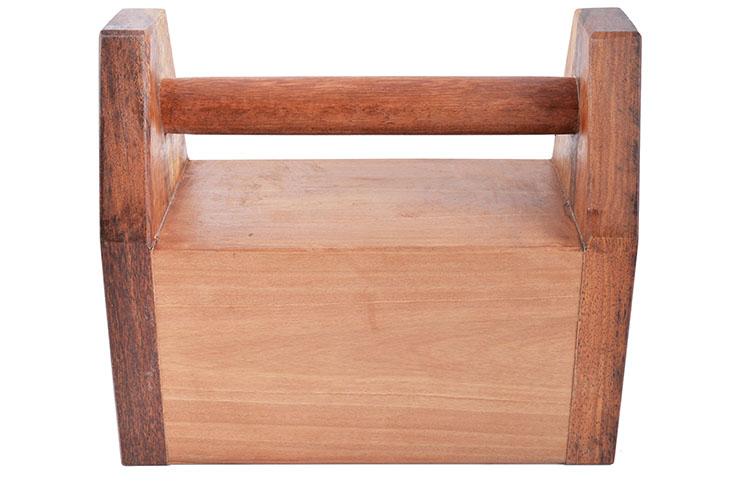 Kettlebell de madera