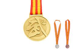 Medalla de artes marciales