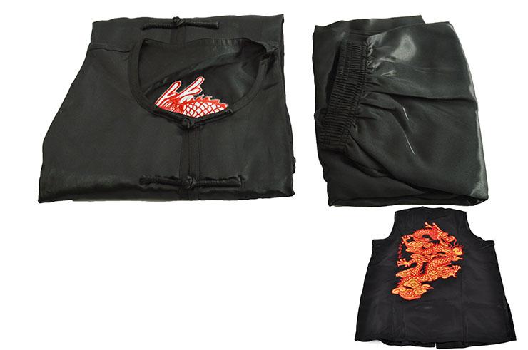 [Déstock] Tenue Nan Quan, Dragon Brodé - 120cm