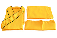 [Déstock] Tenue Shaolin, 1m55 imitation Soie, Orange