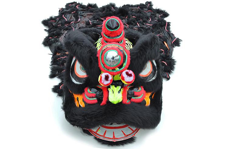 Traje Danza Del León del Sur Negro / Negro
