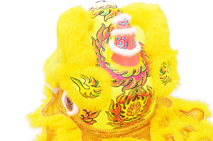 Southern Lion Dance Costume, Yellow/Gold
