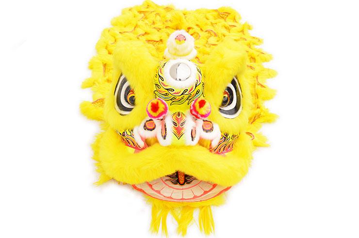 Costume Danse du Lion du Sud Jaune/Or