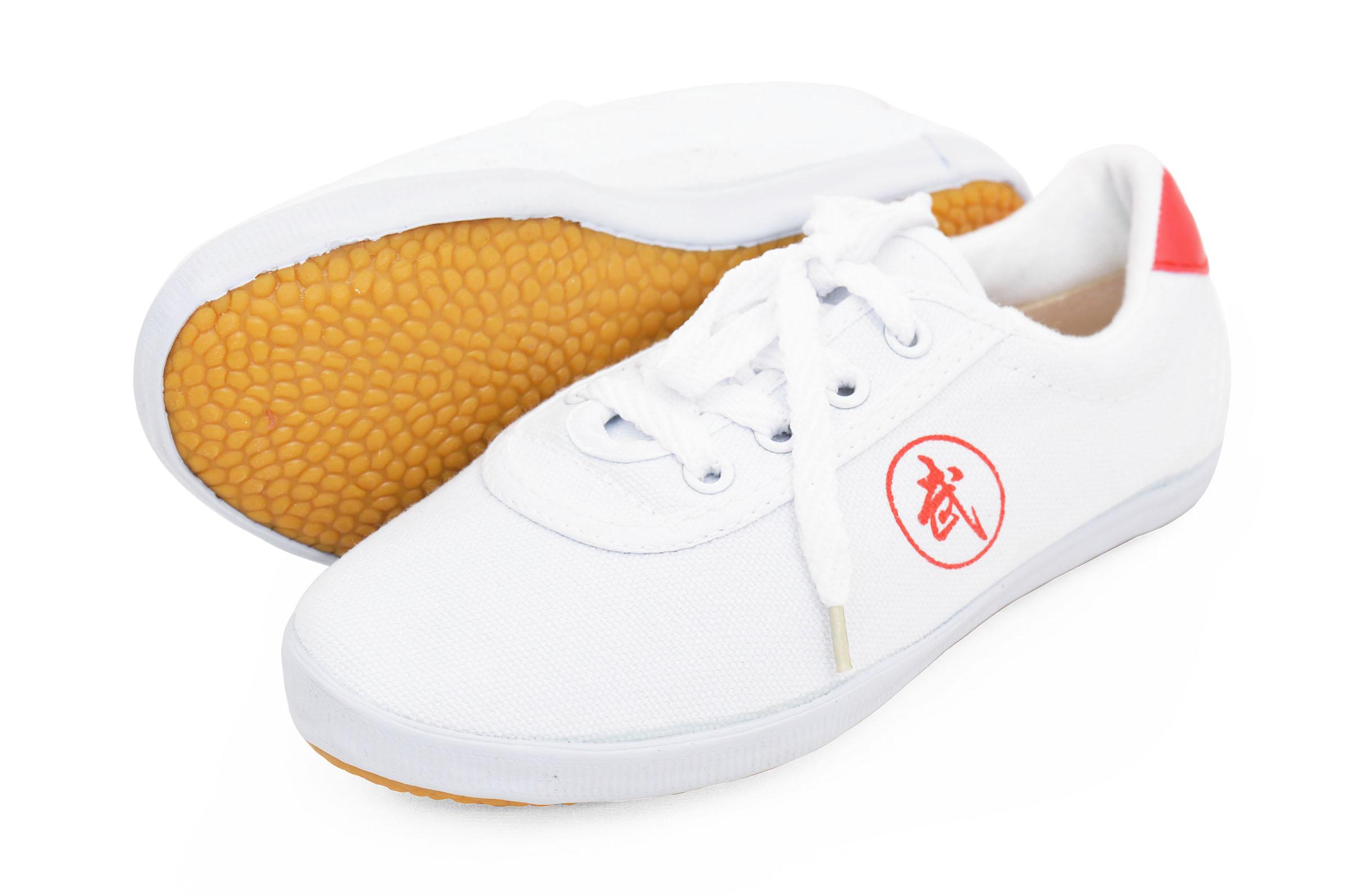 Kung Fu Zapatos - Dragon, blanco - 39 EU