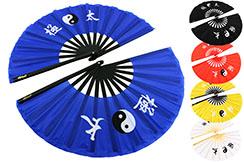 Abánico Doble de Tai Chi (Tai Ji Shan), Yin-Yang
