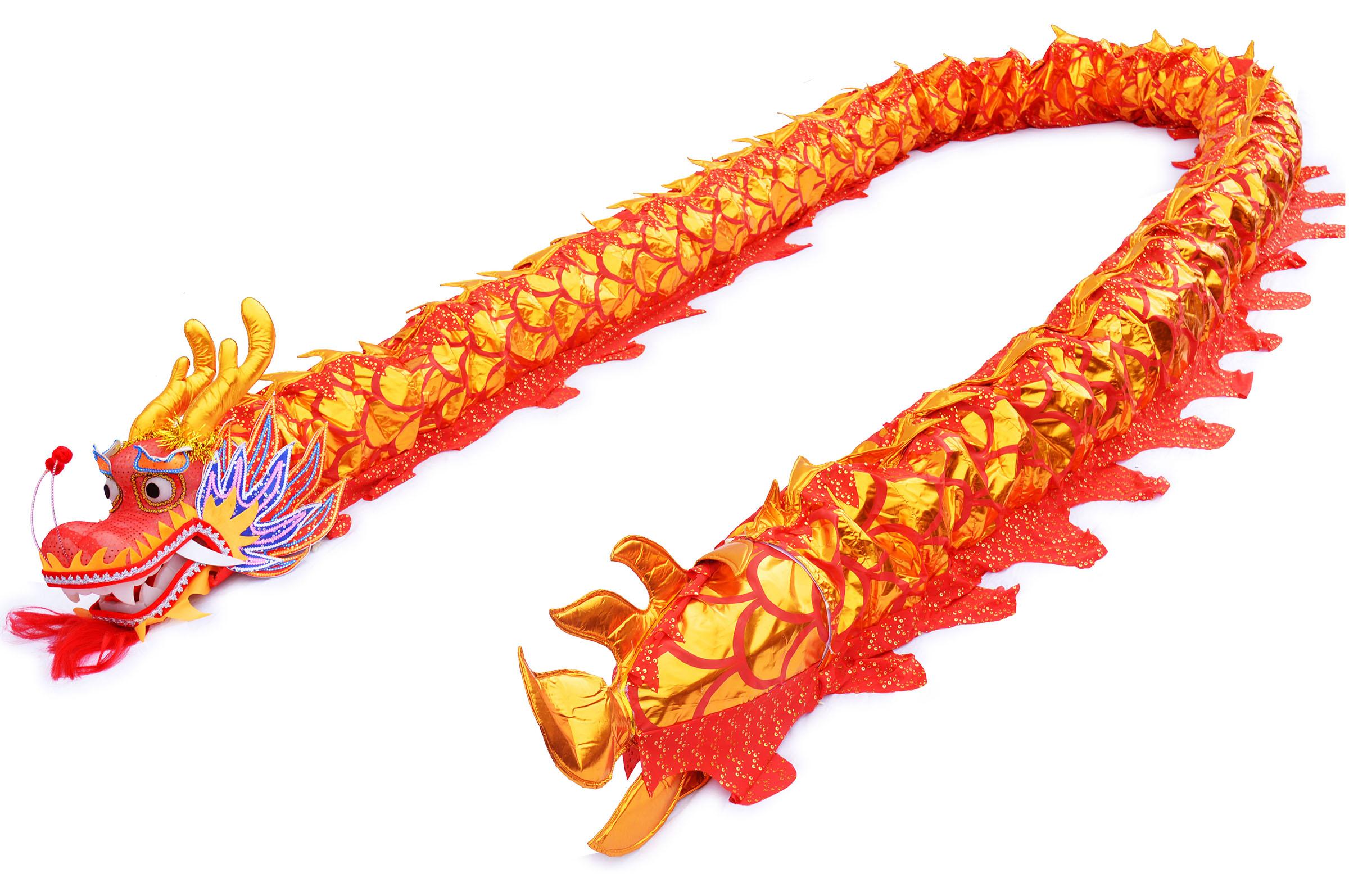 Dragon Rouge et Or 9 personnes