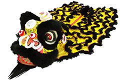 Traje Danza Del León del Sur, Negro y Oro