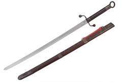 Tai Ji Traditional Broadsword Yang Style (Upper Range, Black) - Rigid