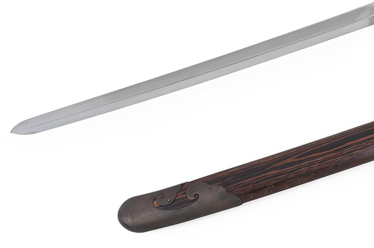 Sabre Traditionnel Tai Chi Style Yang (Haut de Gamme, Noir)